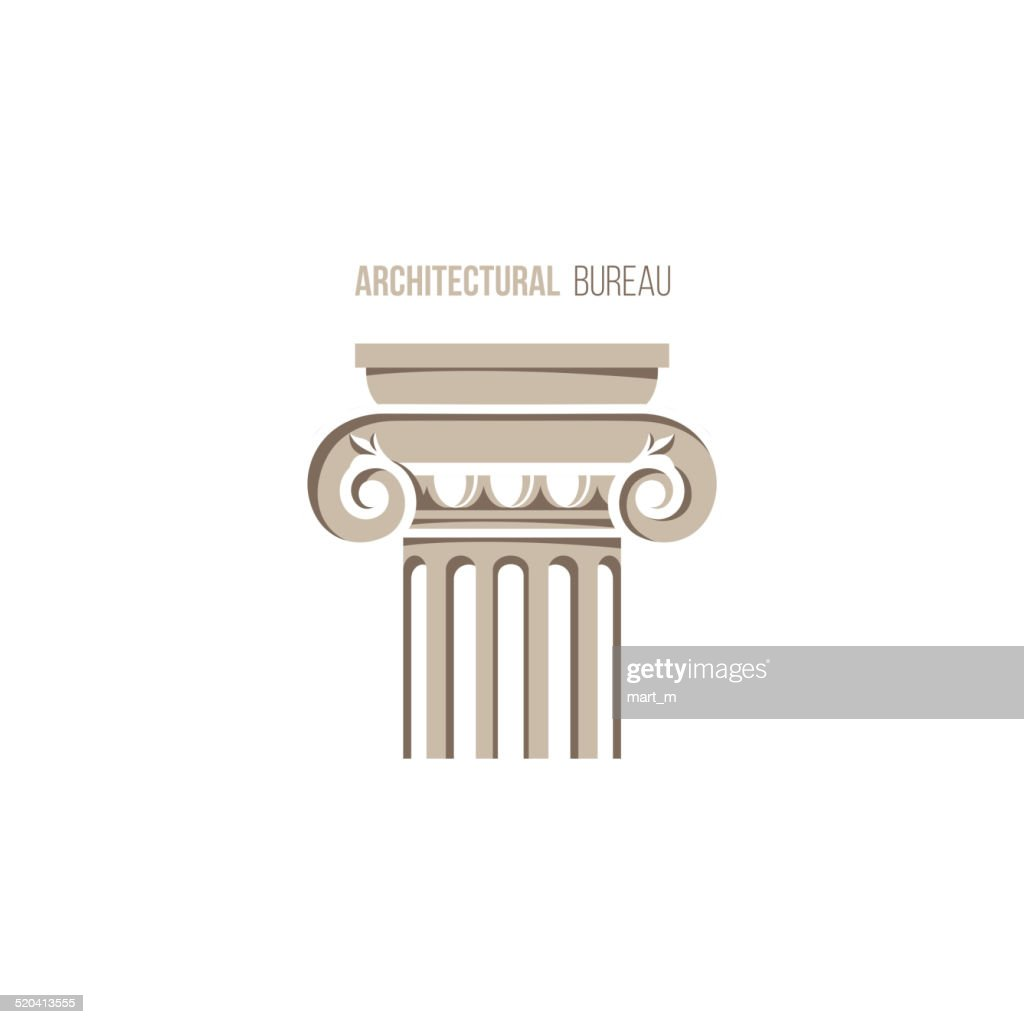 architectural bureau logo template