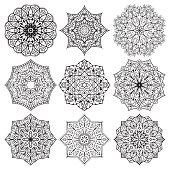 Architectural decorative details.