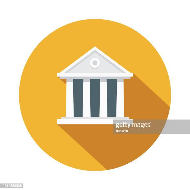 ilustrações, clipart, desenhos animados e ícones de arquitetura design grécia ícone - partenão acrópole