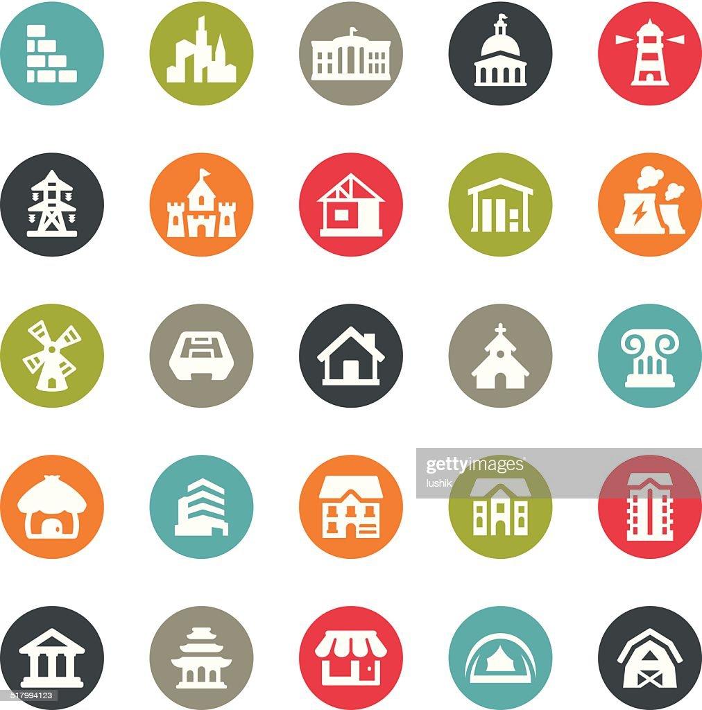 Architecture icons / Ringico series