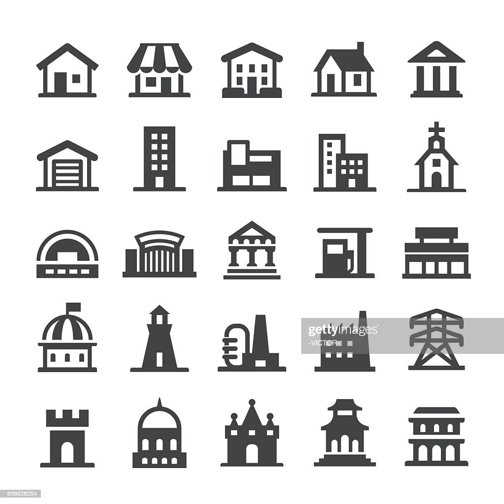 Architecture Icons - Smart Series