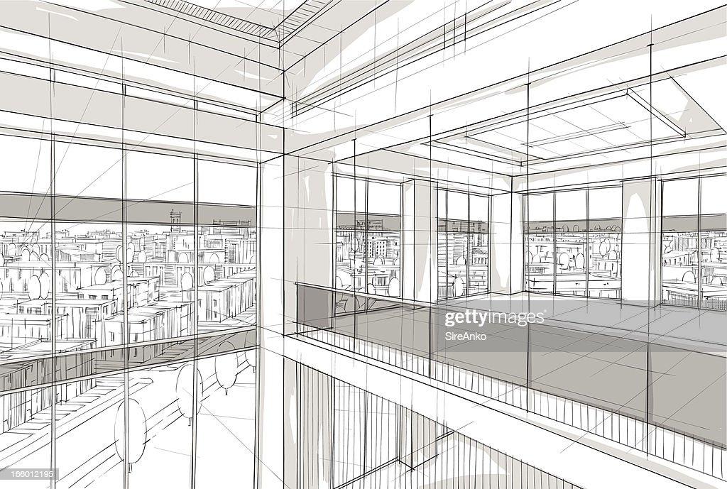 architecture : stock illustration