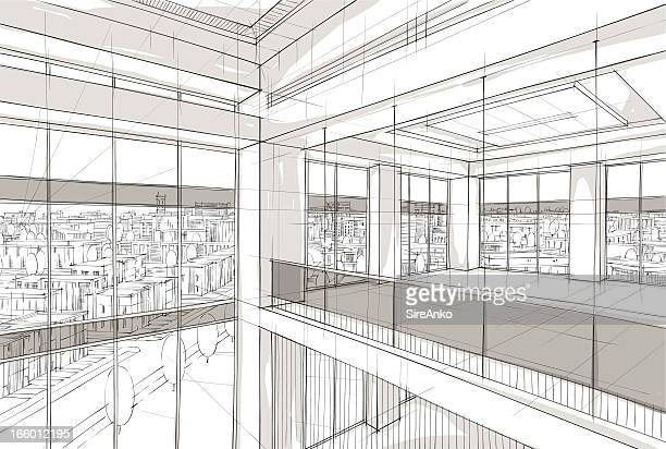 architecture - architectural feature stock illustrations, clip art, cartoons, & icons