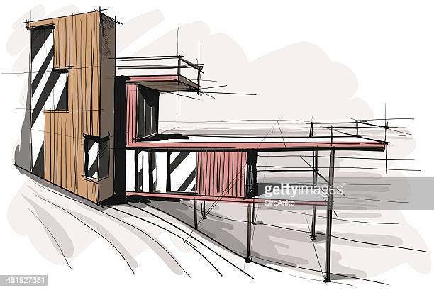 architecture - architecture stock illustrations, clip art, cartoons, & icons