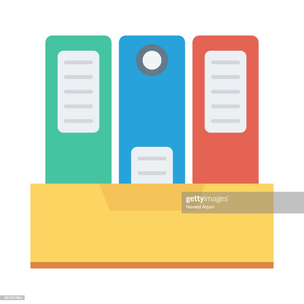 Archive Flat Vector Icon