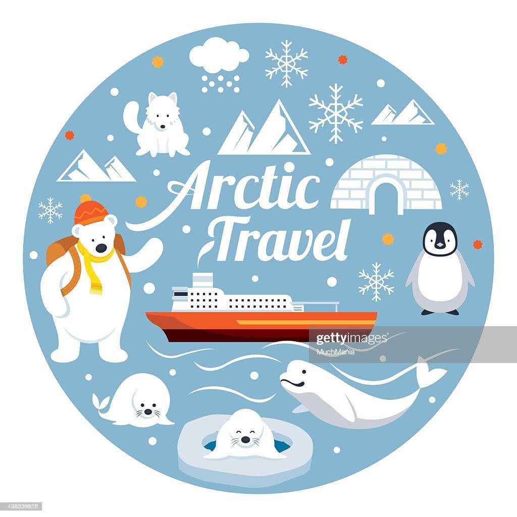 Arctic Travel, Label