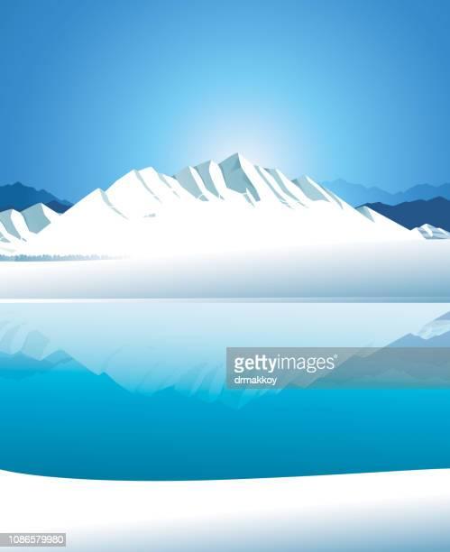 北極 - 南極海点のイラスト素材/クリップアート素材/マンガ素材/アイコン素材