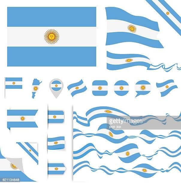 Argentina Flag Set