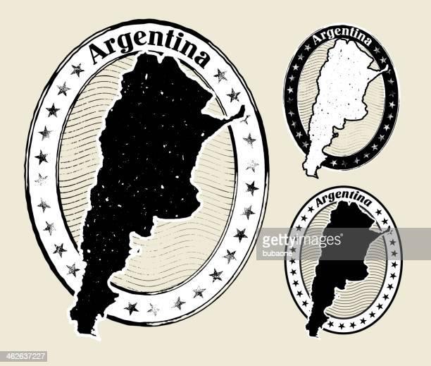 Argentina in Grunge Style