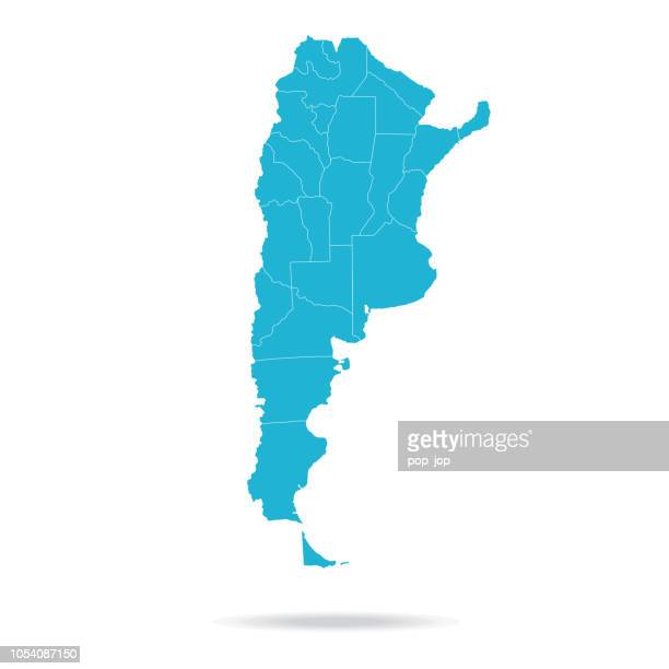 40 - argentina - lava blue empty q10 - argentina stock illustrations