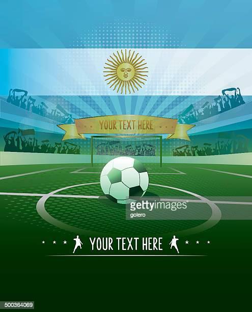 Argentina soccer background
