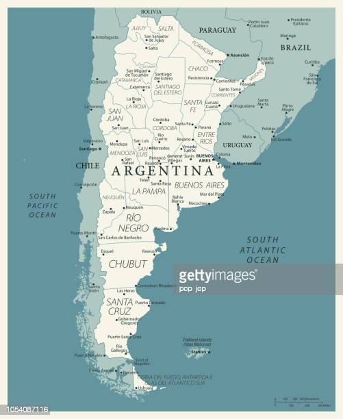 23 - argentina - vintage murena 10 - la plata argentina stock illustrations