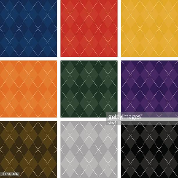 アーガイルベーシック(スムーズ - アーガイル模様点のイラスト素材/クリップアート素材/マンガ素材/アイコン素材