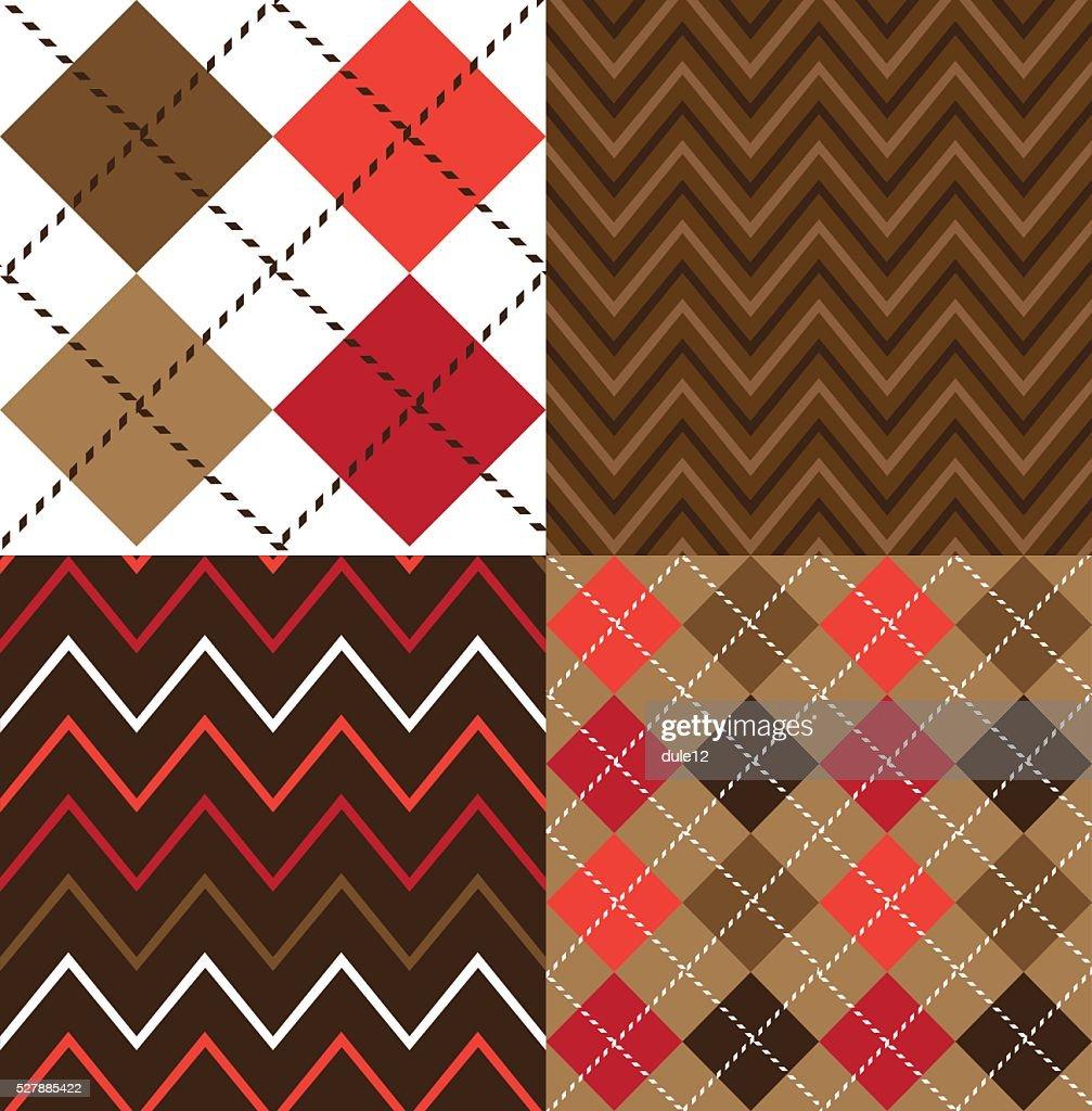 Argyle Fabric Designs
