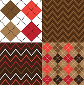 Argyle Fabric Designs