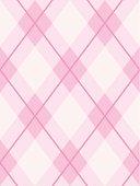Argyle Seamless Pattern Pink