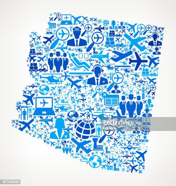 Arizona Aviation and Air Planes Vector Graphic