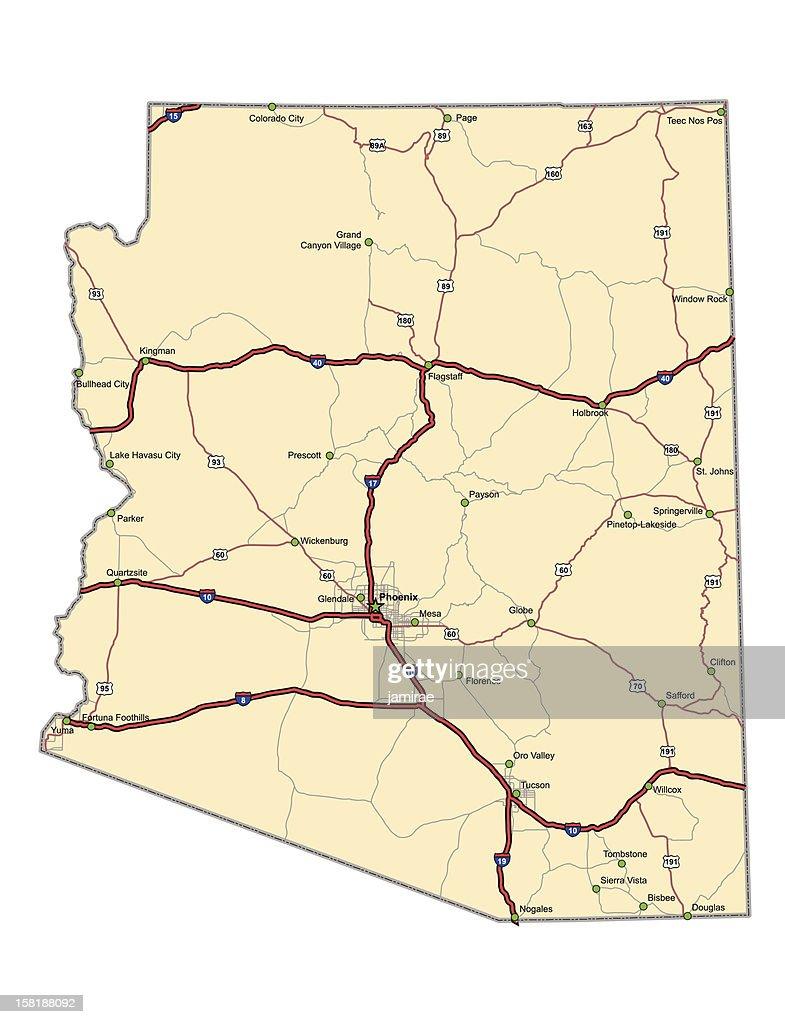 Arizona Highway Map