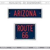 Arizona. Route 66