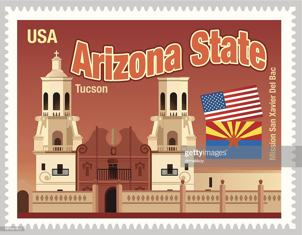 Arizona State Stamps