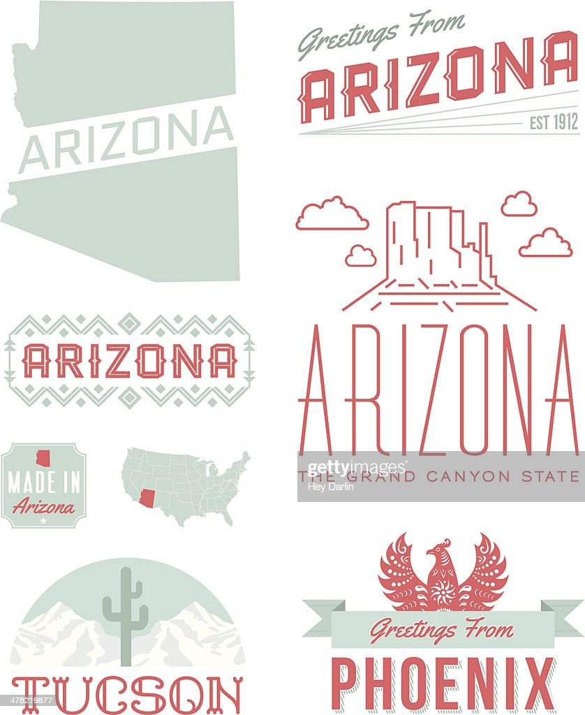 Arizona Typography