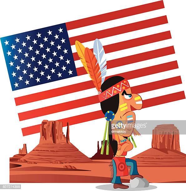 arizona - apache culture stock illustrations, clip art, cartoons, & icons