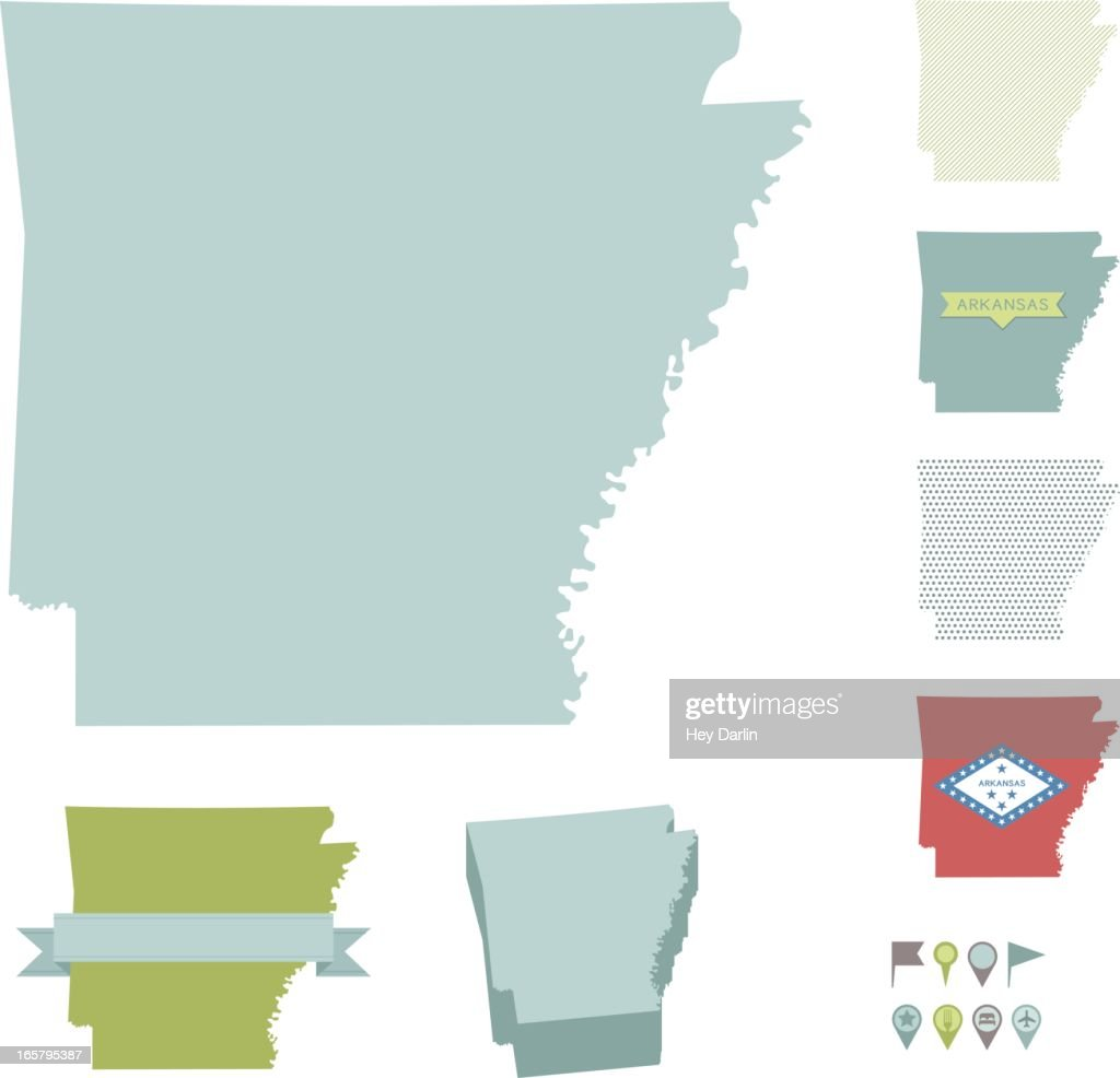 Arkansas State Maps