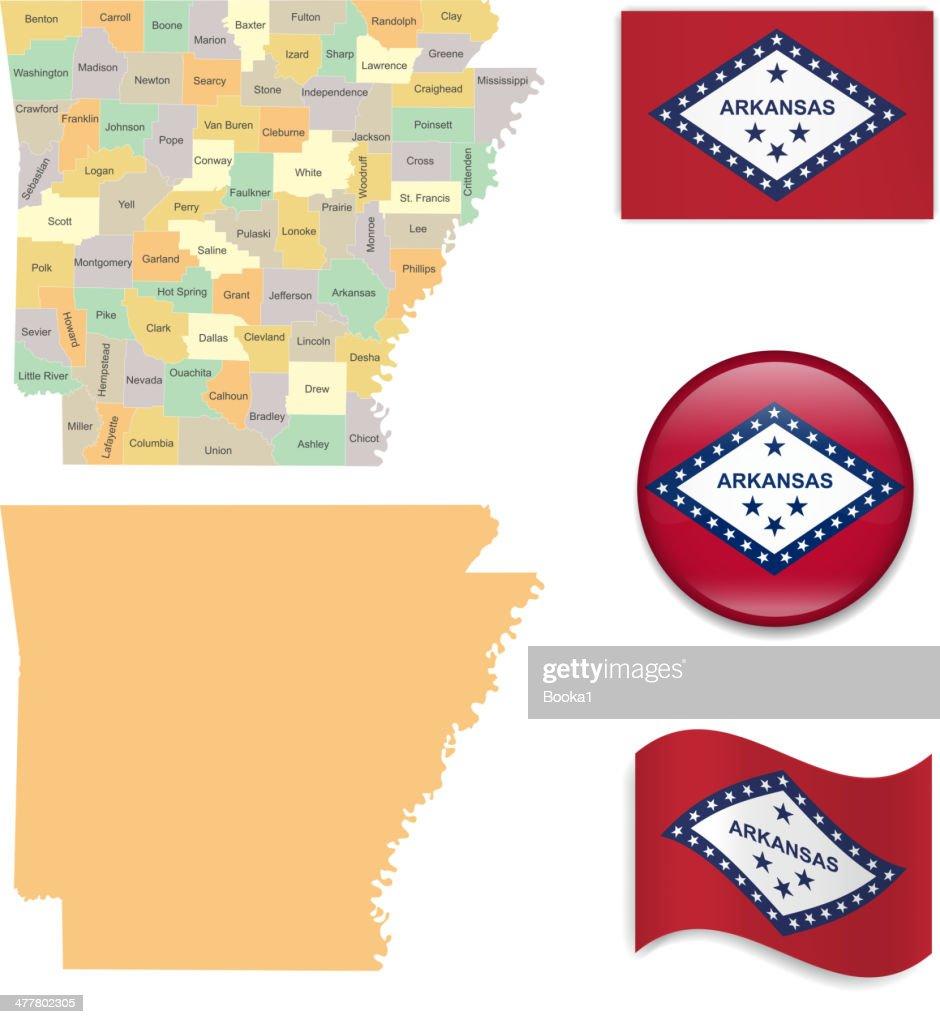 Arkansas State Set