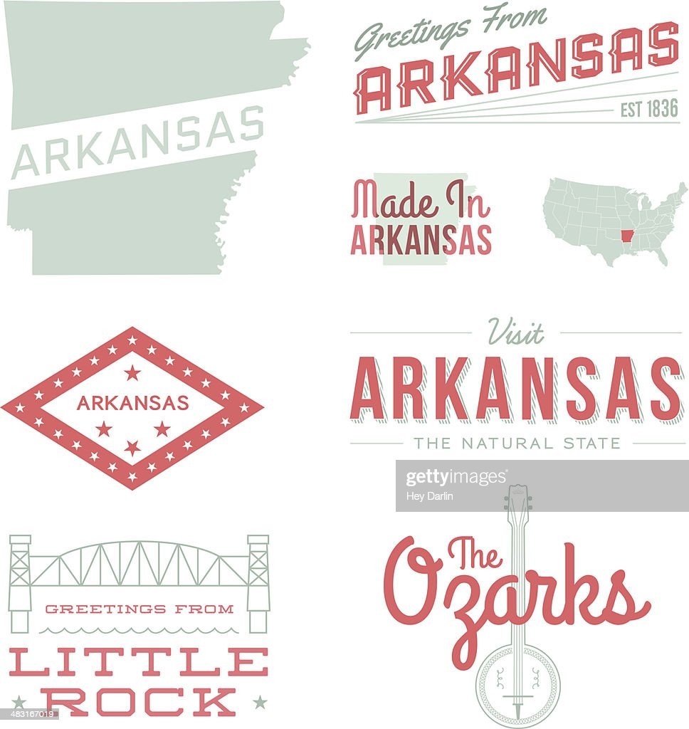 Arkansas Typography