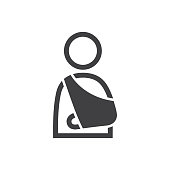 Arm sling Icon