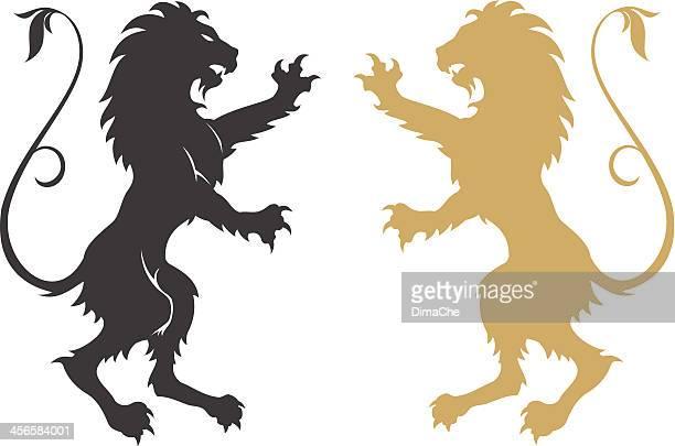 Armorial lions