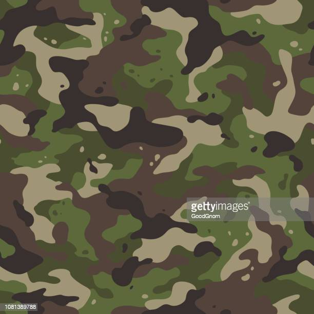 army camouflage - camouflage stock illustrations