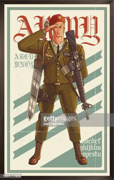 Affiche de l'armée