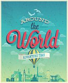 Around the world poster.