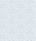 Arows isometric 3D Seamless Wallpaper Pattern.