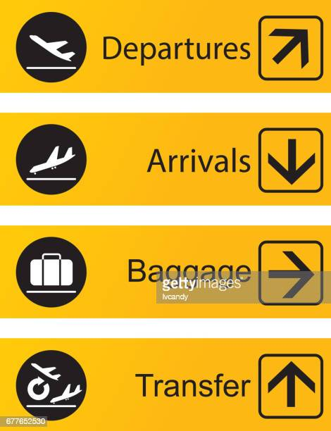 arrival departure board - arrival stock illustrations