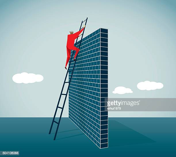 arrival - surrounding wall stock illustrations