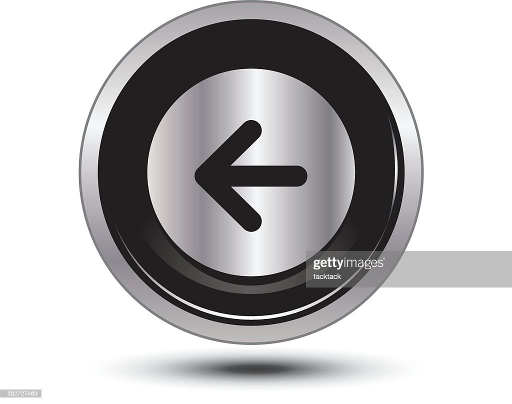 arrow back button icon