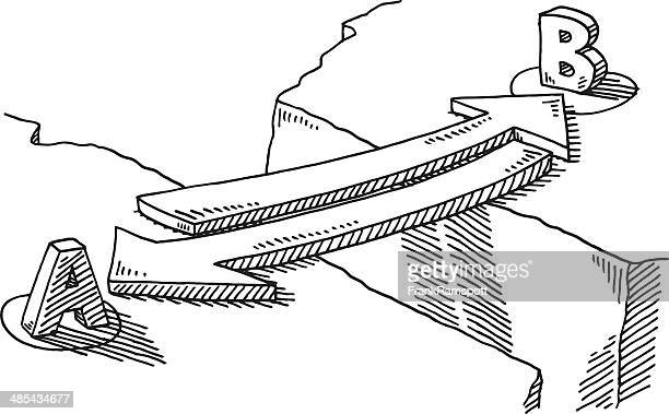 Arrow Bridge Connection Concept Drawing