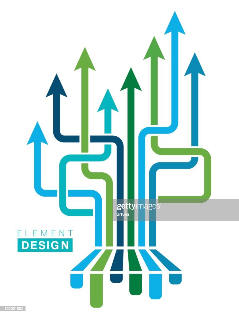 Arrow Design Element : stock illustration
