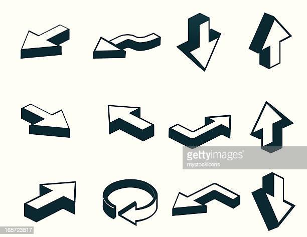 Pfeilsymbol Set