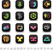 Arrow icons   bbton series