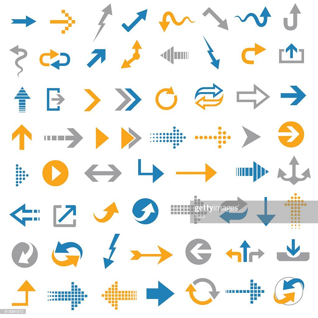 Arrow icons- Illustration