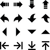 Arrow Icons Set 6