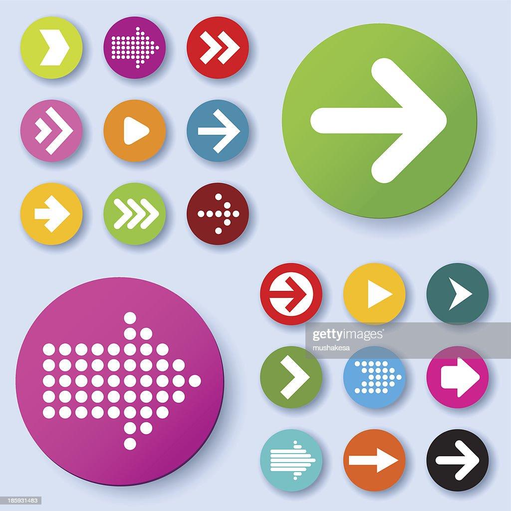 Arrow icons.
