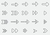 Arrow Line Icons 1