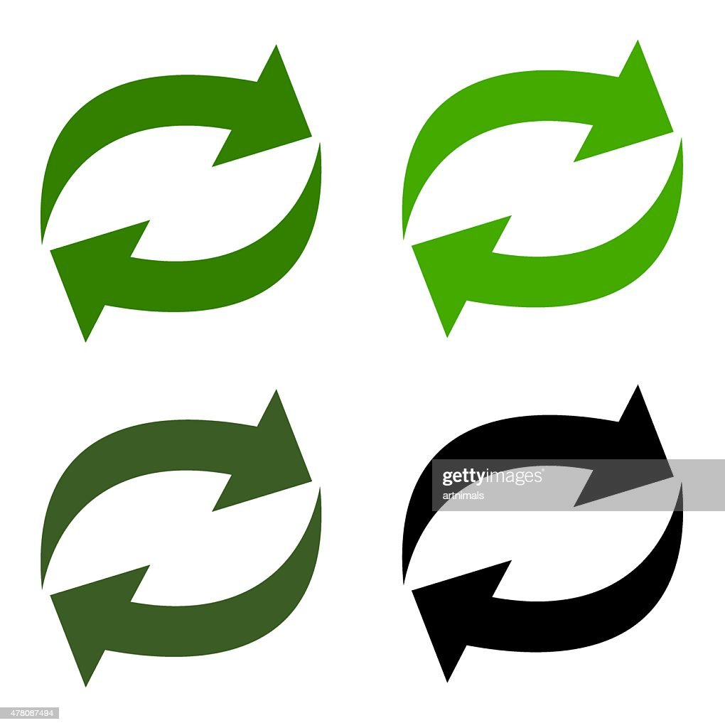 arrow recycling