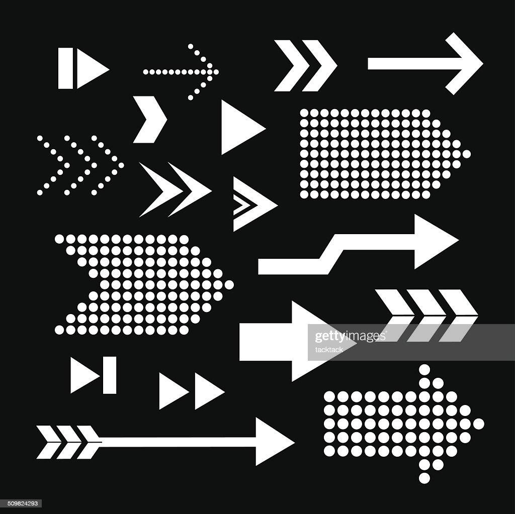 arrow set symbol