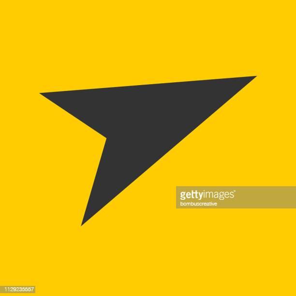 arrow sign - latitude stock illustrations