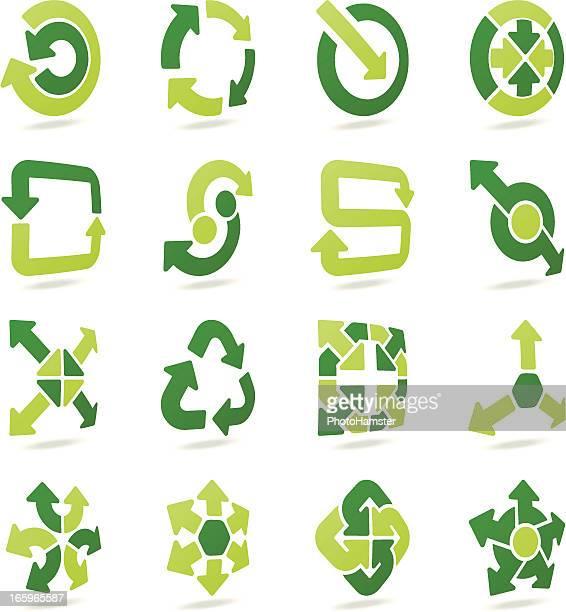 arrow signs 3d set iv - letter s stock illustrations, clip art, cartoons, & icons